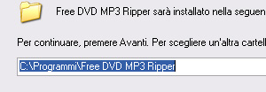 Procedura installazione Free DVD MP3 Ripper 2 step